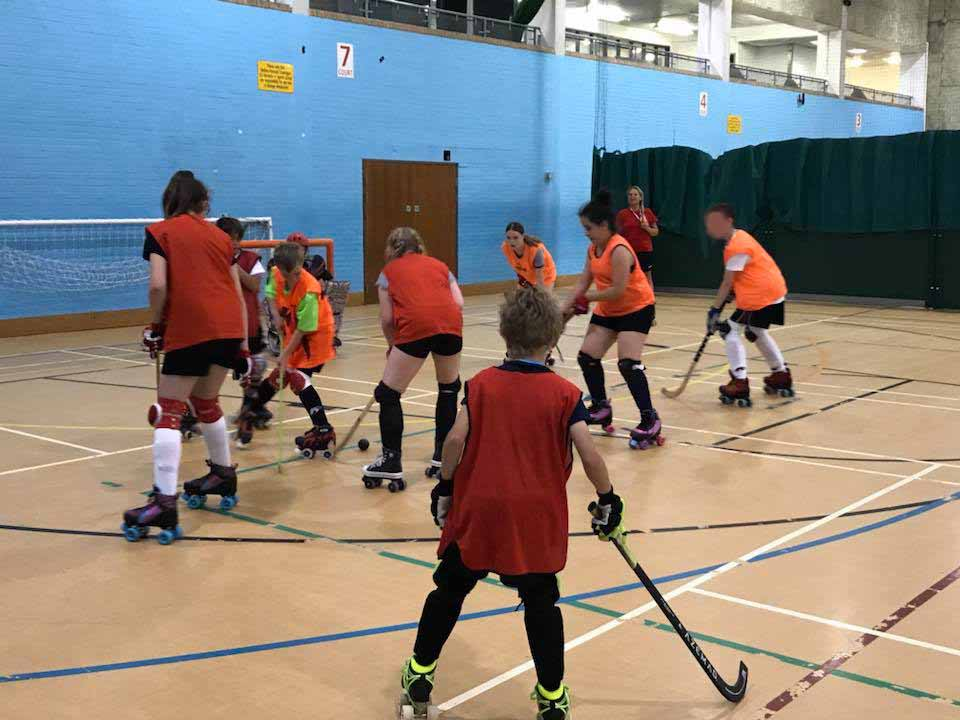 Bedford Griffins Rink Hockey Team Players