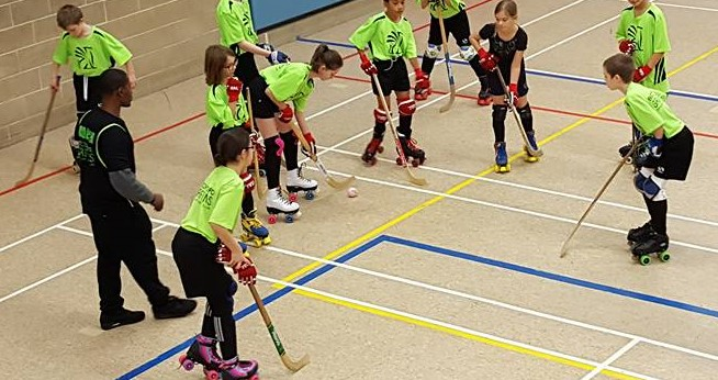 Bedford Griffins Rink Hockey Match Games