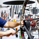 bike service and maintenance workshop